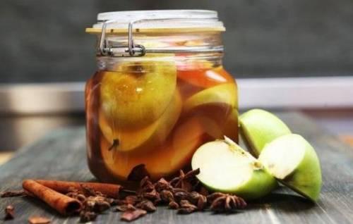 Как сделать маринованные яблоки